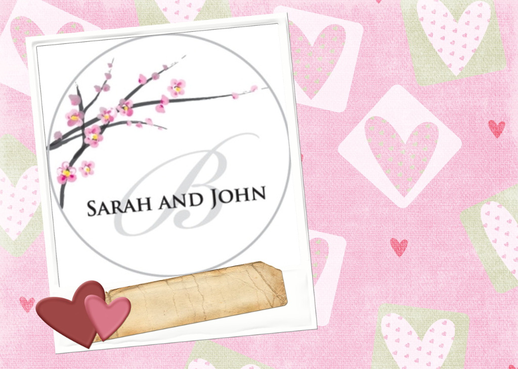 Valentine Weddding Air Fresheners