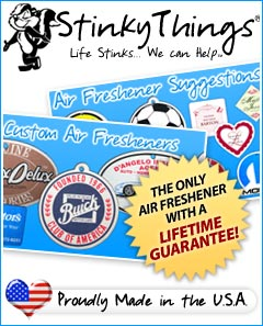 Stinky Things Air Fresheners
